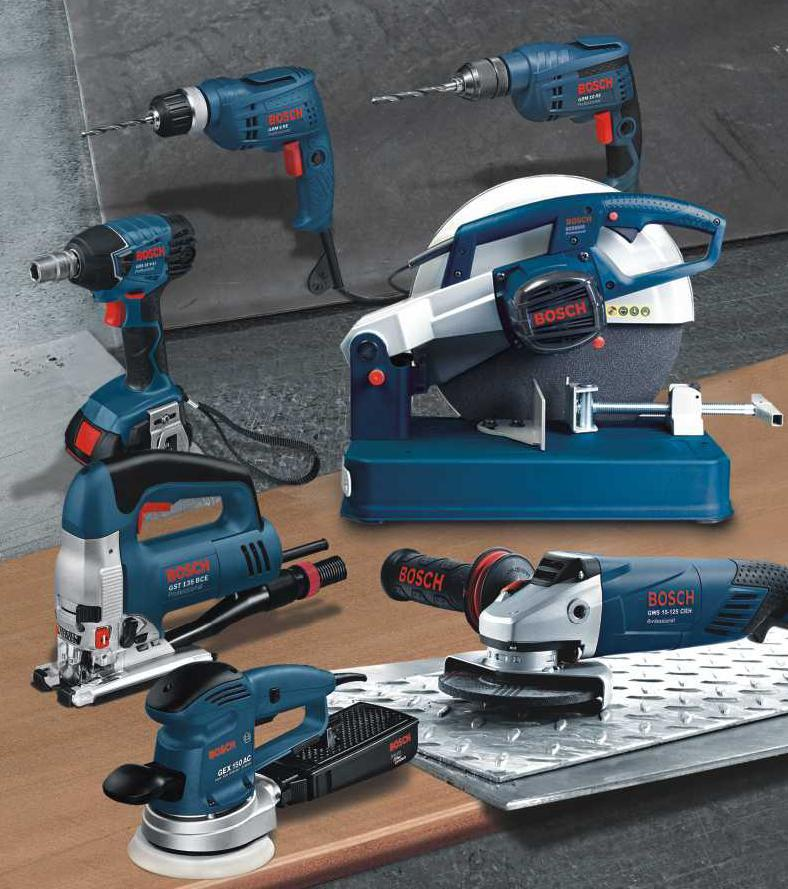Bosch Hand Tools And Power Tools For Industrial Use