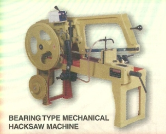 metal cutting hacksaw machine bearing type Shree Ambica Metal Cutting Hydraulic Hacksaw Machine