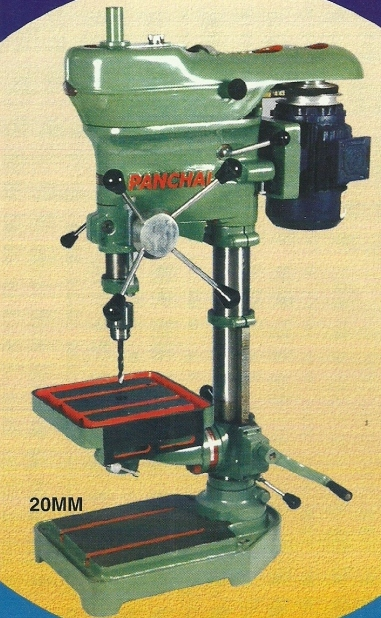 panchal panchvati drilling machine drill machine 20mm size Panchal Drill Machines   Panchvati Engineering Works, Mumbai India