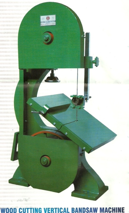 wood working vertical bandsaw machine Milson Wood Cutting Vertical Bandsaw Machine, Mumbai, India