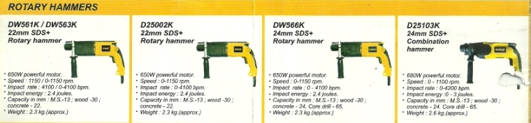 dewalt power tool rotatary hammer drill machine mumbai india Dewalt Hand Power Tools, Hand Drills, Rotatary Drills, Cut Off Machine, Mumbai, India