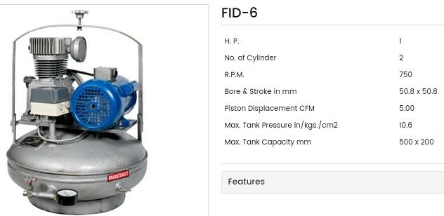 Fouji Dental Air Compressor 2 Fouji Air Compressor Agent And Dealer In Mumbai, India