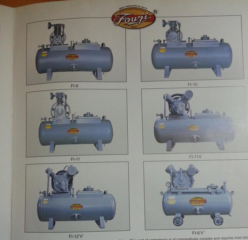 industrial fouji compressors Fouji Air Compressor Agent And Dealer In Mumbai, India