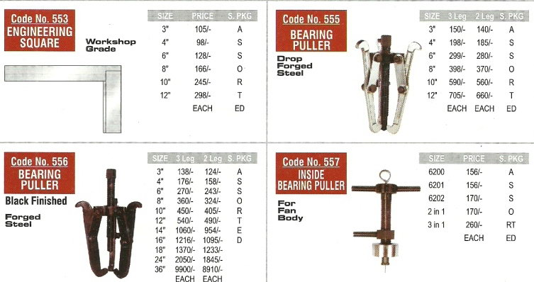 nice bearing puller engineering hand tools Nice Brand   Workshop And Garage Hand Tools, Engineering Hand Tools, Mumbai