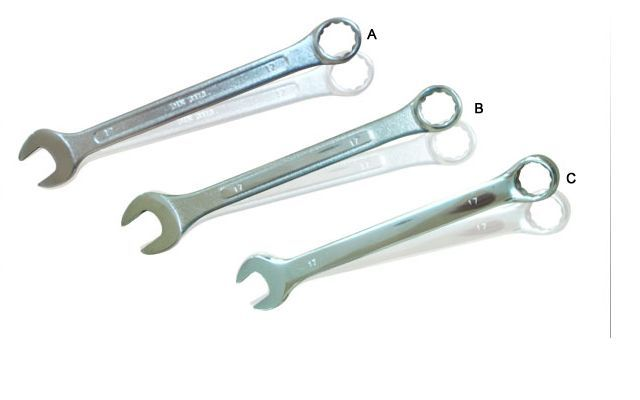 one side spanner open ended Double Ended Spanners And Hardware Tools