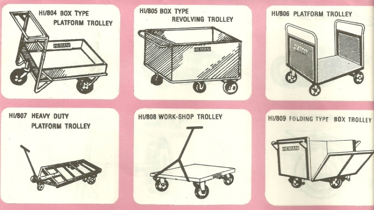box trolley revolving trolley Cylinder And Drum Trolleys And Wheel Barrows, Mumbai, India