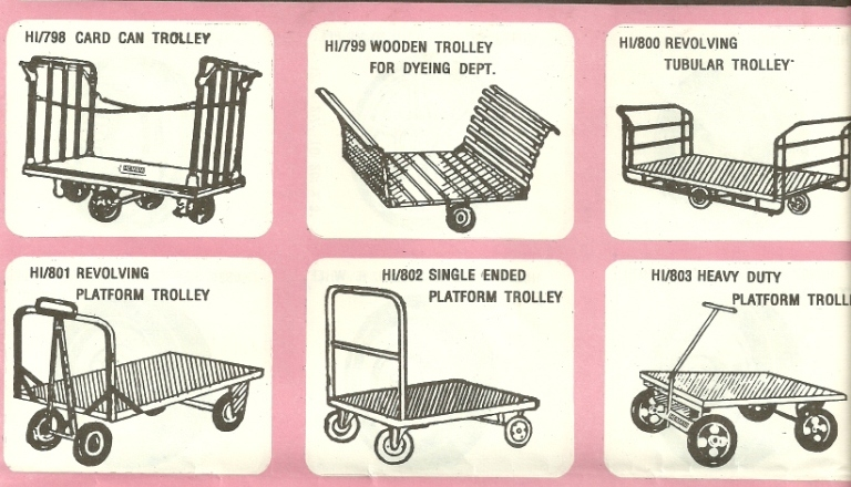 large trolley platform trolley Cylinder And Drum Trolleys And Wheel Barrows, Mumbai, India