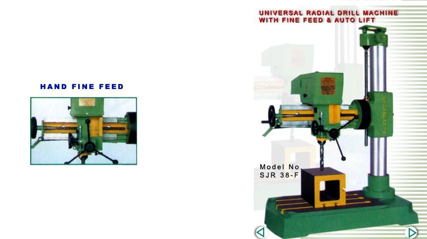 Radial Drilling Machines   Suraj Brand, Mumbai