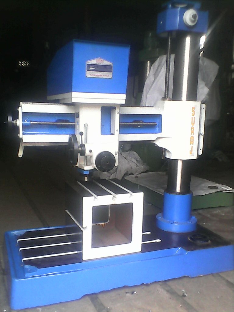 50 mm New Model Radial Drill Photo (1)