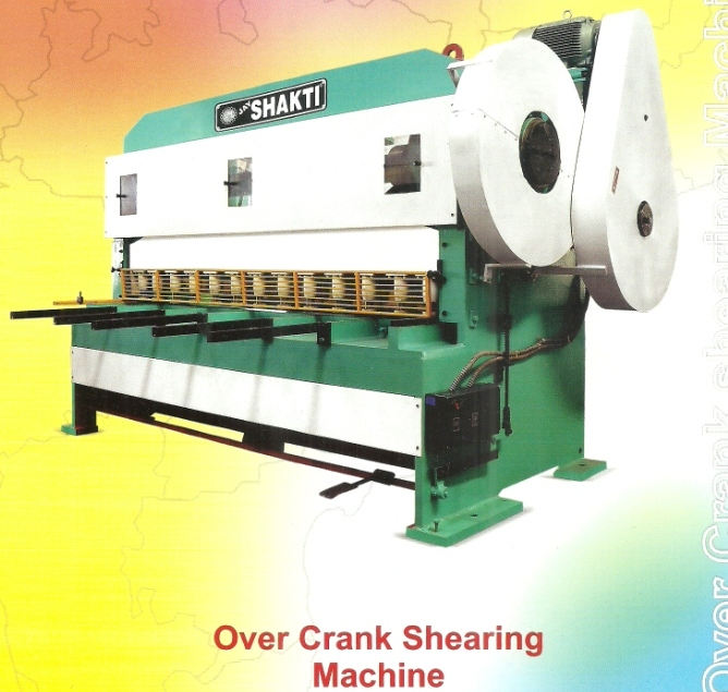 over crank shearing machine Under Crank And Over Crank Shearing Machines, Mumbai India