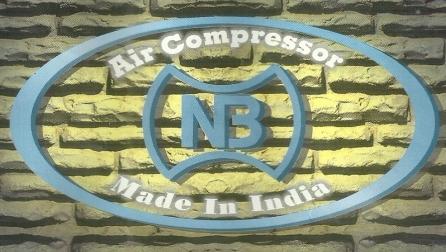 NB air compressor logo NB Air Compressor Machine