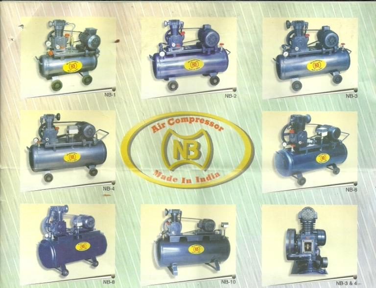 rang of compressors NB Air Compressor Machine