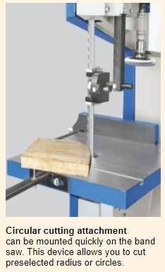 bandsaw circular cutting JAI Brand Wood Working Machine
