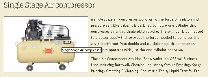 single-stage-compressor
