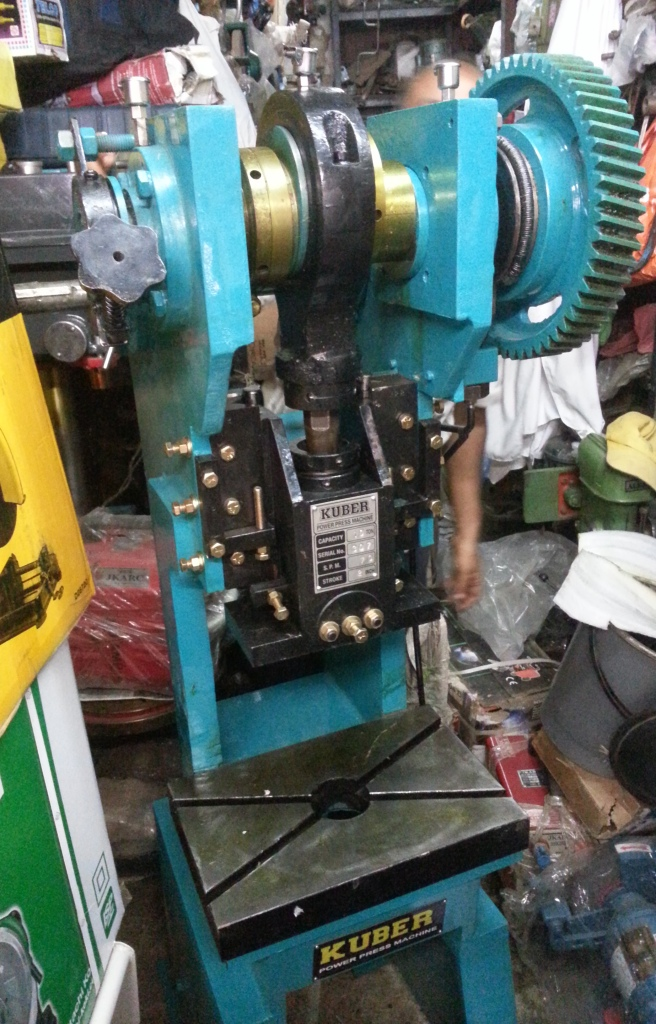 Actual Power press KUBER POWER PRESS MACHINE