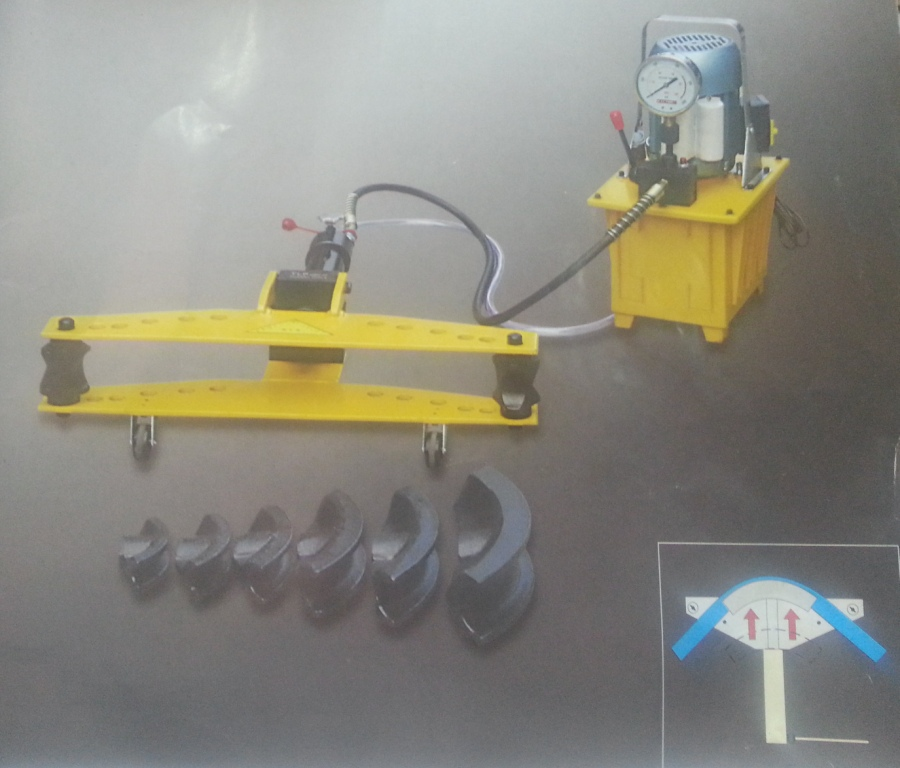 motorized pipe bending machine Hydraulic Pipe Bending